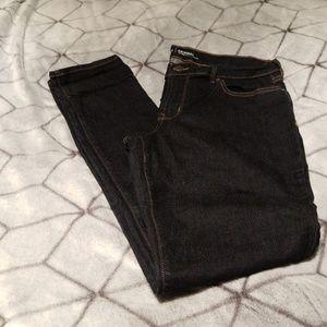 Old Navy original dark denim skinny jeans.